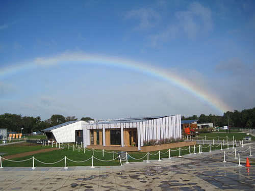 Rainbow Over Solar Village