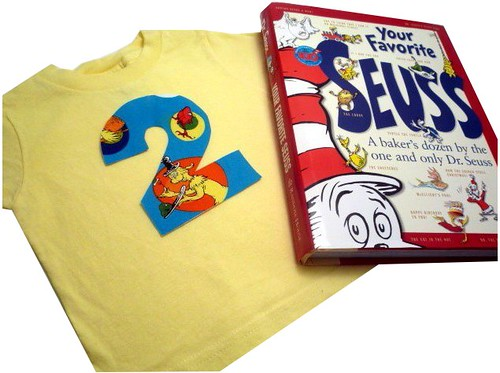 If It's A Birthday For You, How About A Seuss Number Shirt or Two?<br>You Pick Number, Size & Color