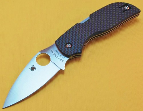 knife knowledge tutorials and knife history spyderco sage 1 carbon