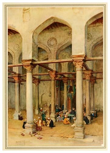 007- Escuela arabe-An artist in Egypt (1912)-Walter Tyndale