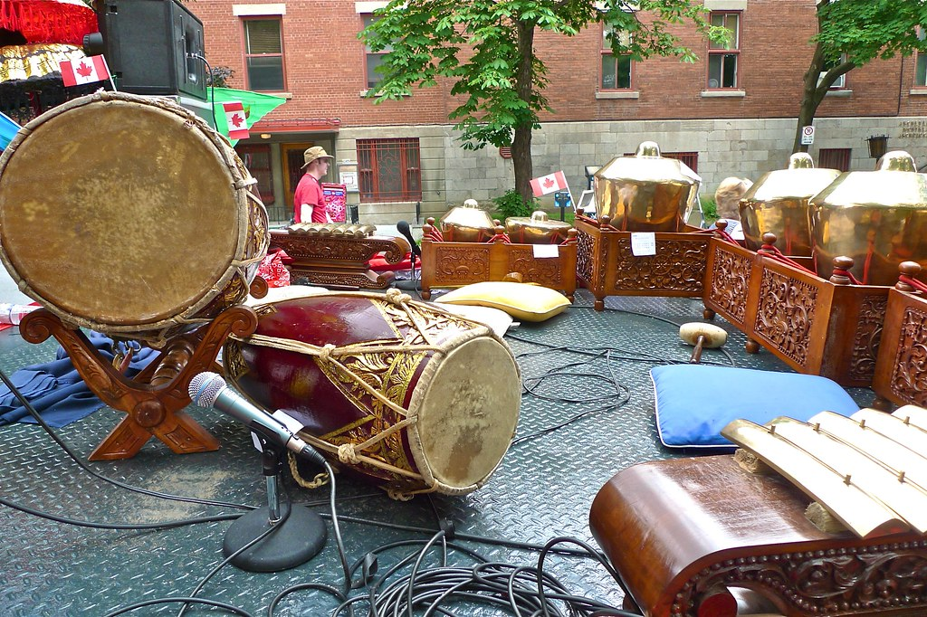 Copyright Photo: The Balinese Gamelan 2 by Montreal Photo Daily, on Flickr
