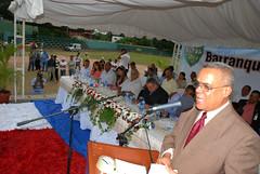 Domingo Colón, presidente del Comité Organizador de los XXXII Juegos Barranquiteños.