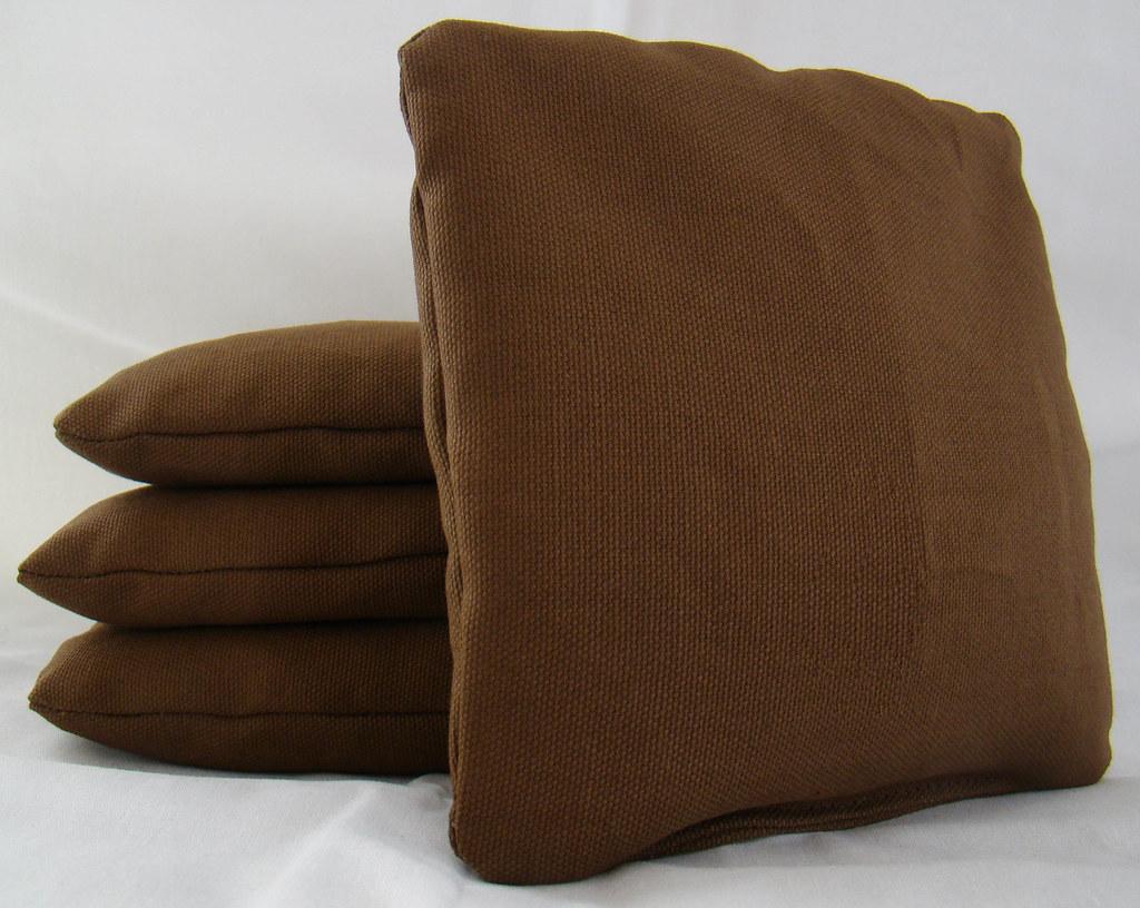 Brown Cornhole Bags