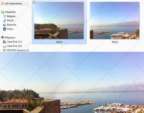 Photoshop CS4 te Panoromik Resim Oluşturma : Resim Birleştirme (ViDEO DERS)