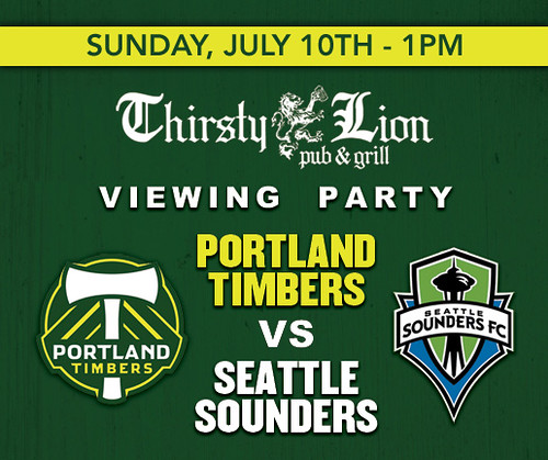 Portland Timbers @ Thirsty Lion