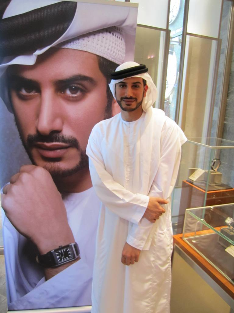 Mohammed Sultan al Habtoor-Dubai Mall press event_15.06.11
