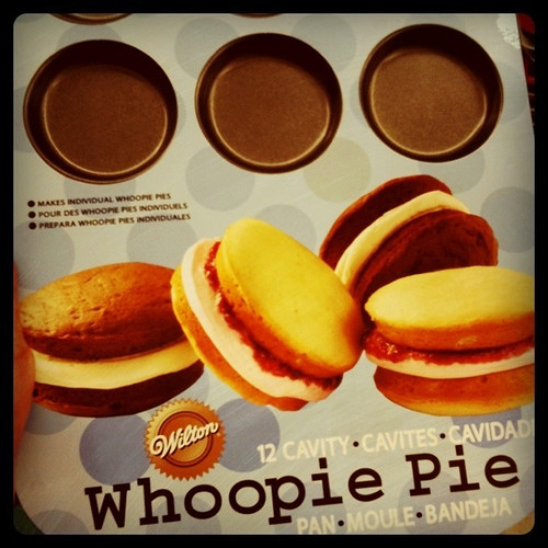 Will try making whoopie pies tonight