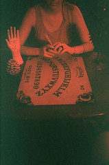 anyone at all (Jacob Seaton) Tags: red sun girl satan devil ghosts palmreading seance ouijaboard annablythemoore paranormalolympusstylus