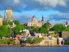 Qubec (twiga_swala) Tags: world old canada building heritage saint st skyline architecture river louis town office lawrence poste post quebec bureau style places canadian historic unesco upper qubec stlaurent difice saintlaurent laurent ancien beauxarts villehaute
