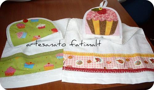 Bate Mão Cupcake by fatimalt