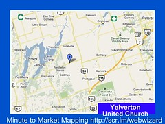 Yelverton United Church Map Open an interactive map in a new window.