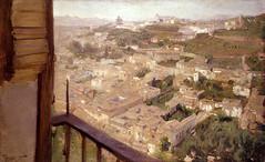 """Jos M. Lpez Mezquita. Vista del Albaicn. Granada, 1905 (""""GALBA"""") Tags: paisaje alhambra granada vista mezquita fotografia lugar documento pintura albaicin localizacion galba testimonio gonzlezalba lopezmezquita lugarpintado"""