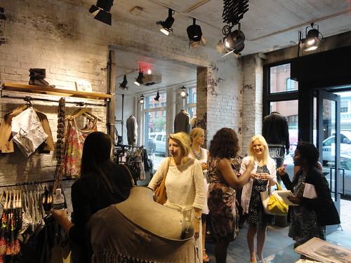 AllSaints Opens in Georgetown