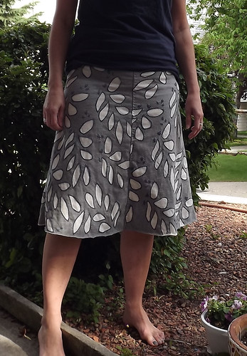 Swing skirt from Alabama Stitch Book