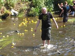 Stockbridge Duck Race 2011
