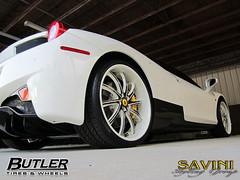 7_ Ferrari 458 Savini SV37s (SaviniForged) Tags: wheels exotic custom carbonfiber savini 458 multipiece butlertire