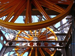 Eiffel Tower wheels