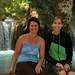 Myriam e Mi em uma das piscinas