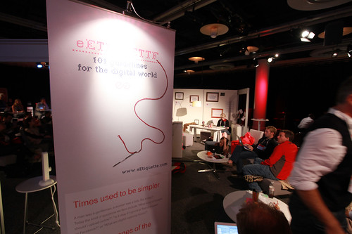 e-etiquette booth at TEDGlobal 2011
