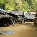 Vila da tribo Karen de pescoço comprido