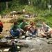 Almoço a caminho do Vulcão Rinjani