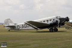 D-CDLH - D-AQUI - 130714 - Lufthansa Berlin-Stiftung - Junkers Ju-52 3mg8e - 110710 - Duxford - Steven Gray - IMG_5465