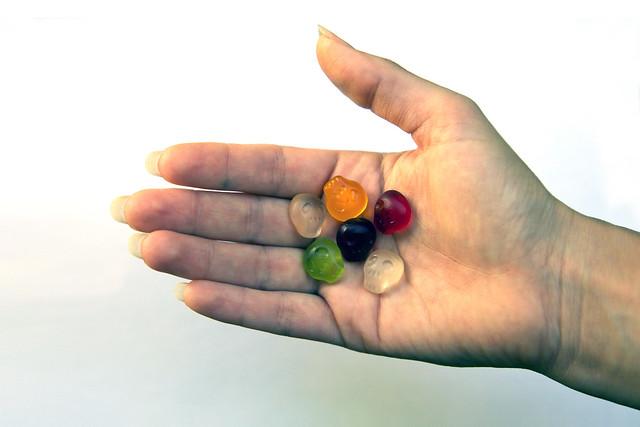 Projectiles | bonbons calavera