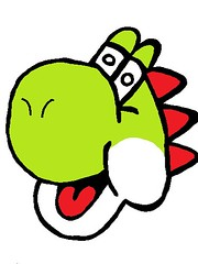 Yoshi (RetroGraffiti) Tags: street blue school red orange black west green london art sorry yellow wall gold graffiti town sketch purple yorkshire mario retro holy your croft elite illegal council about dedicated yoshi keighley quaser