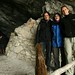 Entrada da caverna de gelo