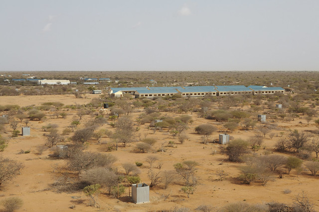 New camp stands idle and closed as Somali refugees pour into Kenya