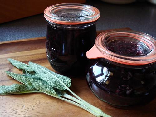 Black Raspberry Sage Jam