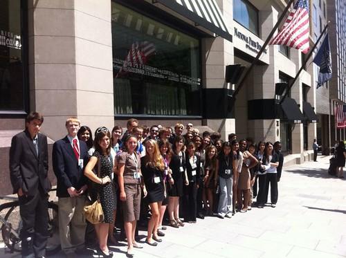 NSLC Students at the National Press Club