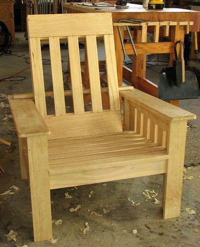 Outdoor Morris Chair 5 Final Pieces Little Good Pieces