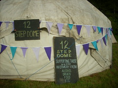 Twelve Step dome sign