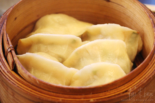 Pork and Chive Dumplings (Steamed), Chinese Noodle House