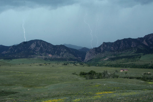 Photo - Lightning in Eldorado Canyon