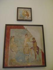 frescos de Pompeya 3 (caliope y la luna) Tags: museoarcheologiconazionale