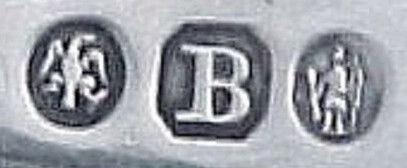 Theophilus Bradbury hallmarks on spoon
