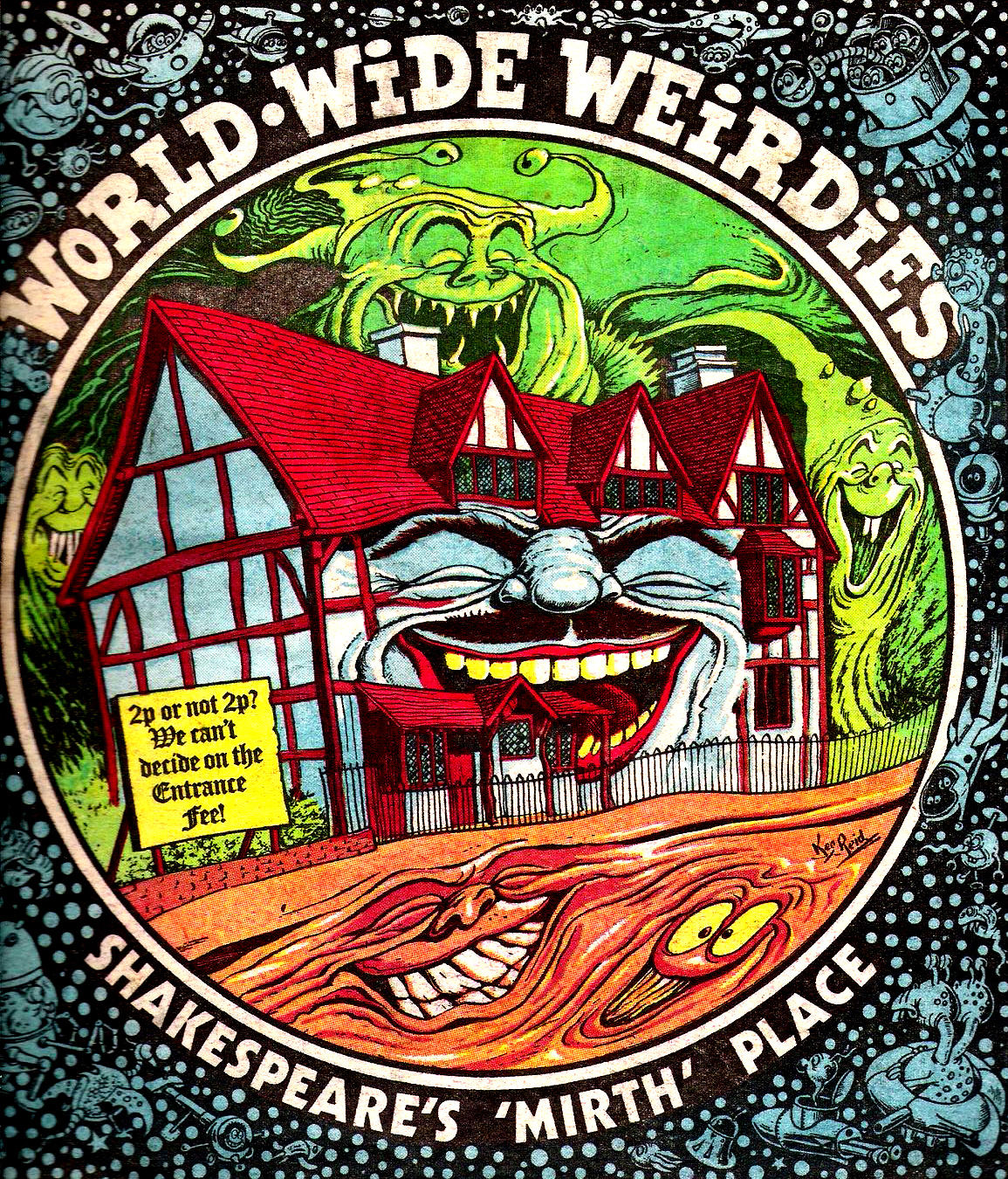 Ken Reid - World Wide Weirdies 43