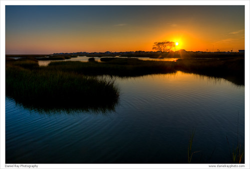 Bayou Vista Sunset 3 by Daniel Ray