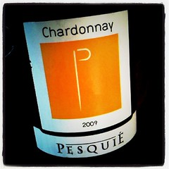 """Chardonnay 2009"" Chateau Pesquie"
