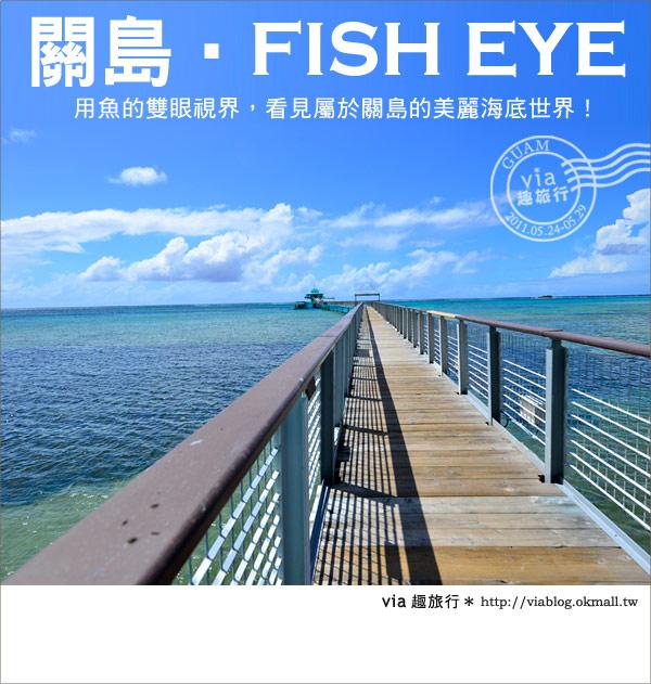 【關島景點】最美的海中展望台~FISH EYE魚之眼展望台