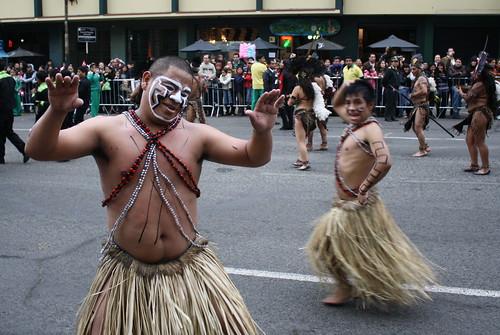 Corso Wong, an annual parade in Miraflores