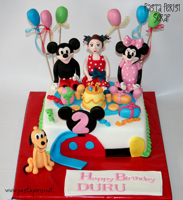 mickey mouse cake - DURU