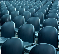 some empty seats (Werner Schnell Images (2.stream)) Tags: blue empty seats werner ws schnell sitze wernerschnell