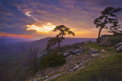 Mt. Nebo (photogg19) Tags: mountain silhouette nikon arkansas mtnebo dardanelle rimtrail mountainvista landscapephotography ouachitamountains scenicvista scenichighway7 d7000 mtnebosunset