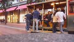 Cable Car Departure - Powell Turnaround (AgentAkit) Tags: sanfrancisco muni cablecar sfist sfmta
