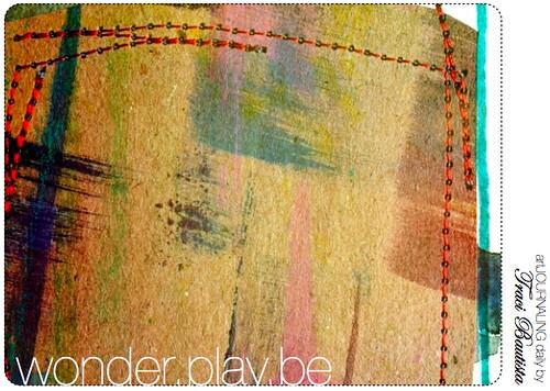 stitched journaling spot