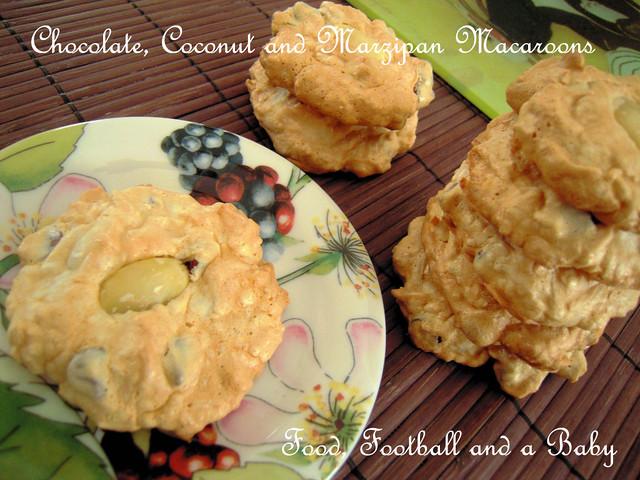Chocolate Coconut Marzipan Macaroon 2