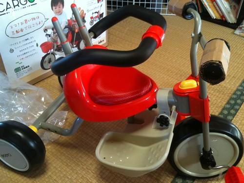 三輪車 安全バー